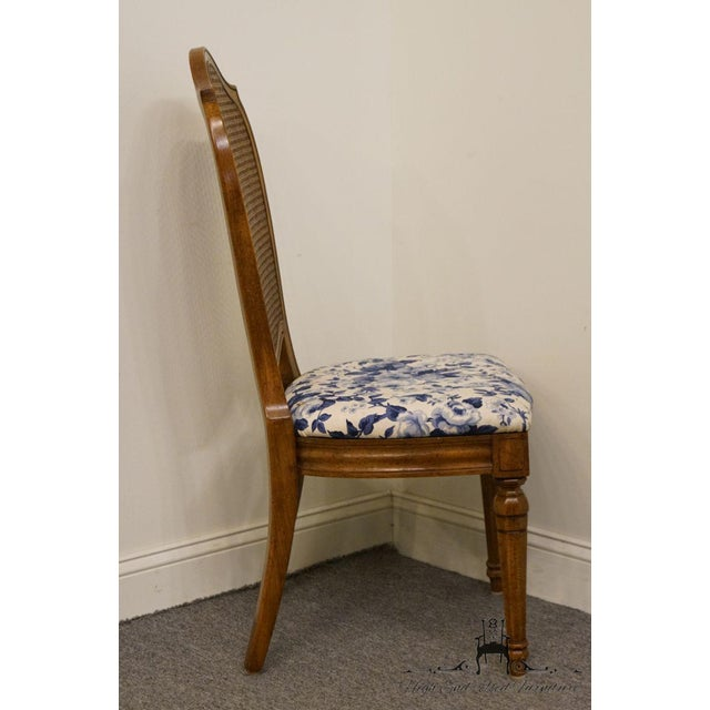 Caning Thomasville Furniture Tapestry Collection Cane Back Dining / Side Chair For Sale - Image 7 of 12
