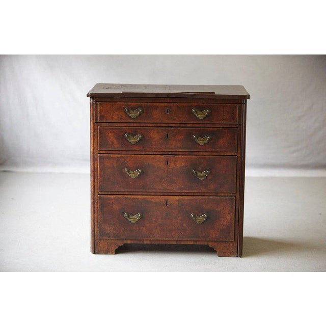 Queen Anne Important Queen Anne Walnut Architect's Chest, Circa 1710 For Sale - Image 3 of 10