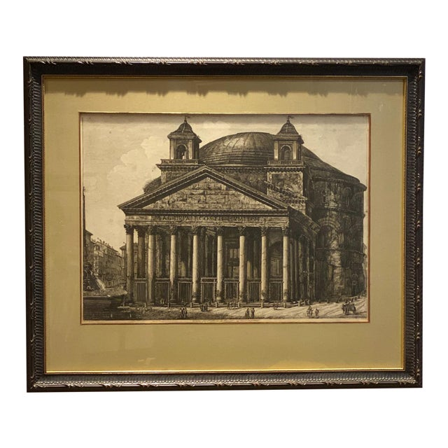 Piranesi Etching of the Pantheon, Circa 18th Century For Sale