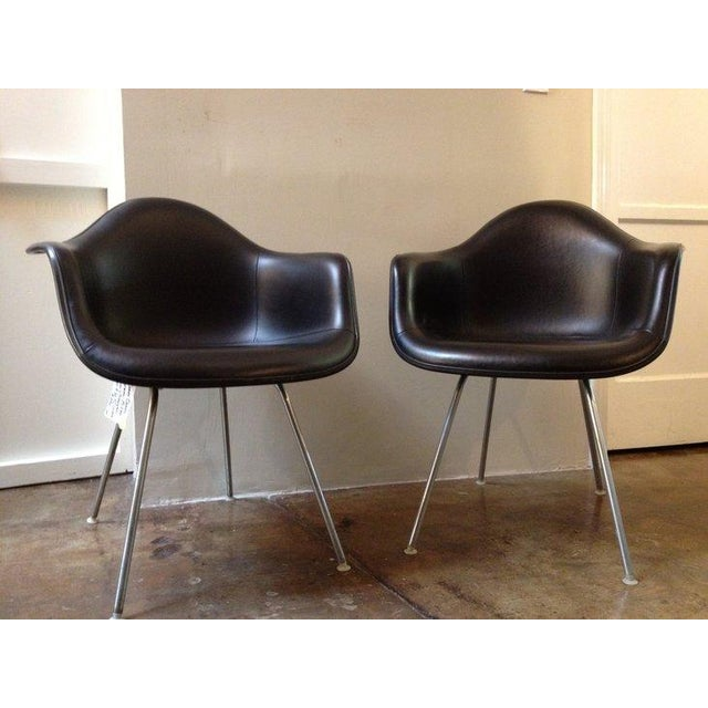 Black Herman Miller Chairs - a Pair - Image 2 of 6