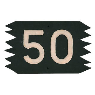 50 Sign For Sale