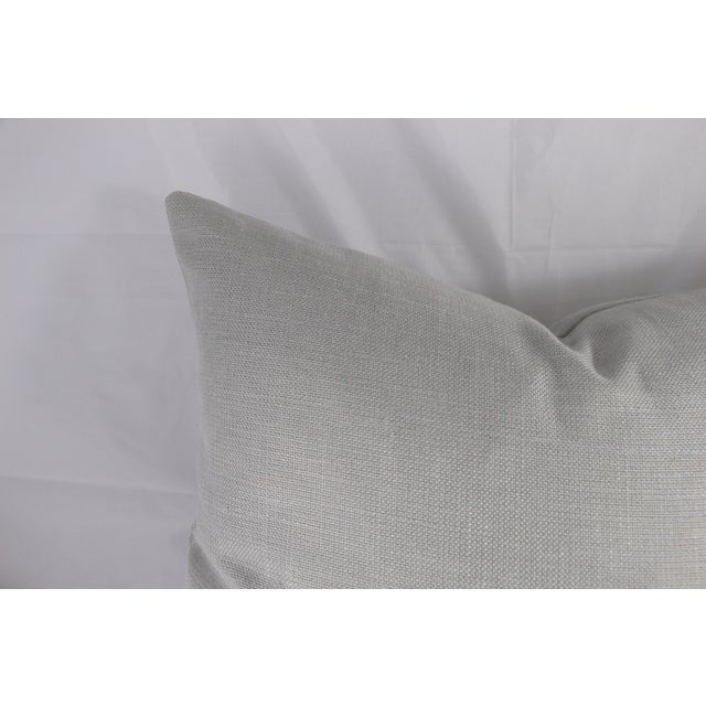 Silver Linen Pillow - Image 4 of 5
