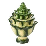 Image of Large Green Artichoke Tulipiere For Sale