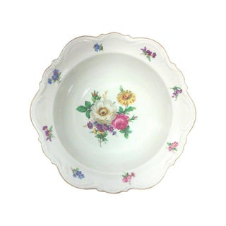Meissen Porcelain Serving Bowl