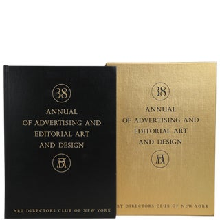 "1959 ""38th Annual of Advertising & Editorial Art & Design"" Coffee Table Book For Sale"