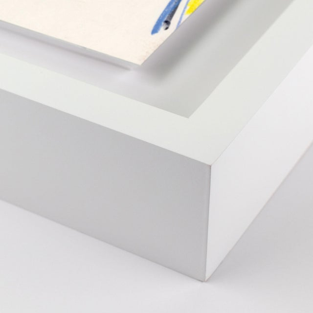 Portrait by Luke Edward Hall Image Size (WXH): 16x21 Flush/Float/Matted: Floated Frame Color: White Hanging Hardware:...