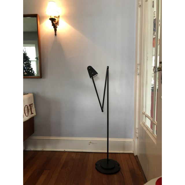 Modern Belux Articulating Floor Lamp For Sale In New York - Image 6 of 6