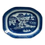 Image of Early 19th Century Chinese Canton Platter For Sale