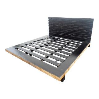 Environment Furniture Reclaimed Peroba King Bed Frame