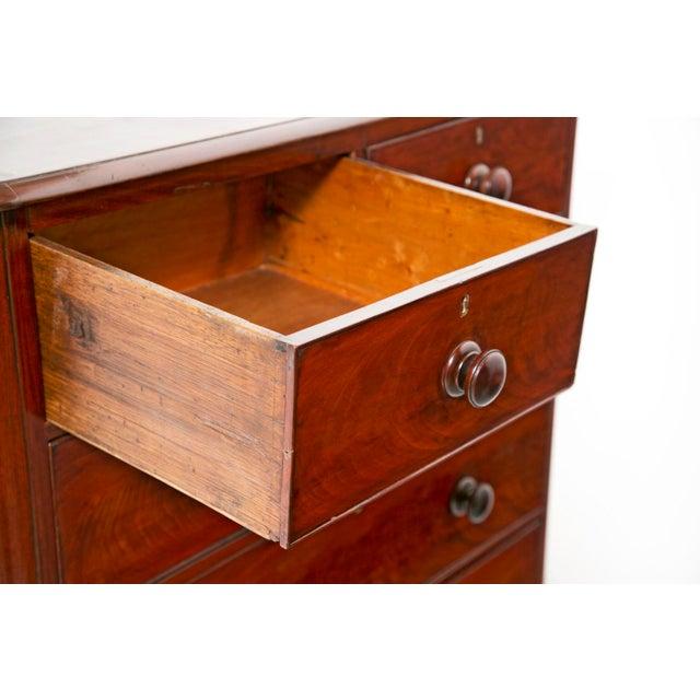 Mahogany 19th Century English Victorian Mahogany Chest For Sale - Image 7 of 9