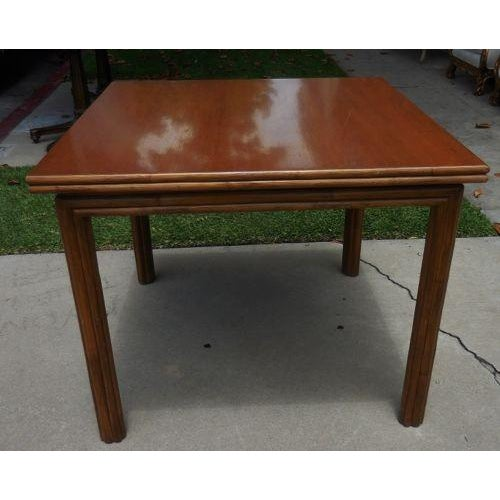McGuire McGuire Flip Top Breakfast/Dining Table For Sale - Image 4 of 6