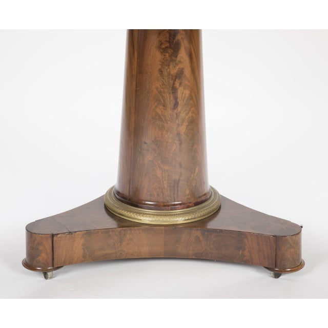 Wood 19th Century English Marble Top Center Table For Sale - Image 7 of 13