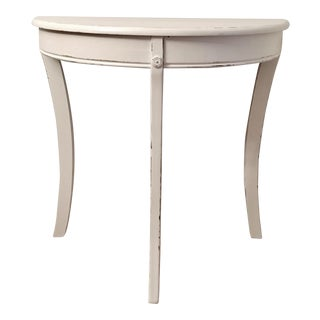 Hand Painted Curved Console Table