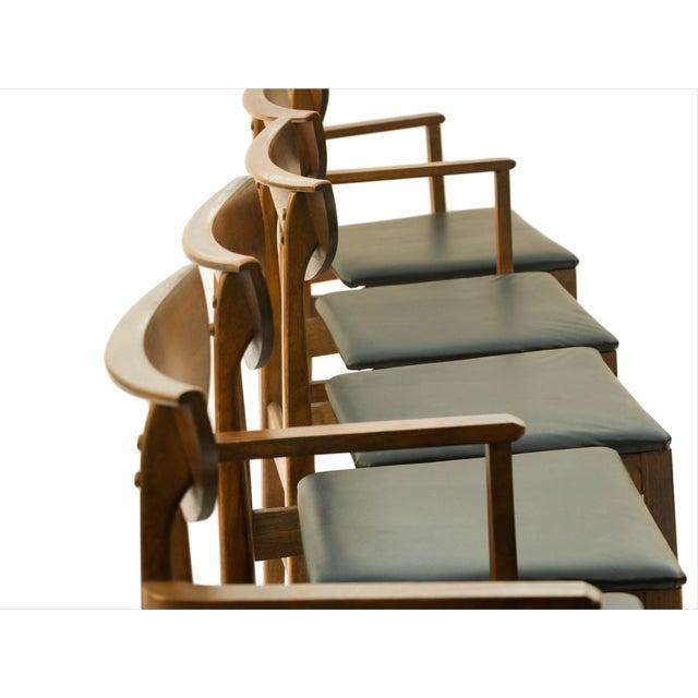 Mid Century Modern Bassett Dining Chairs - S/5 - Image 6 of 10