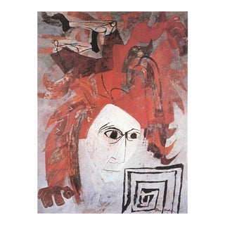 "Ben Shahn Icarus Theme 20.25"" X 14.25"" Poster 1981 Modernism For Sale"
