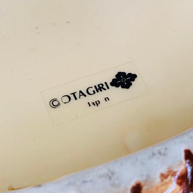 Ceramic Vintage Otagiri Japan Tiki Pineapple Candy / Condiment Dish Platter For Sale - Image 7 of 11