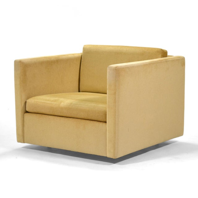 Metal Charles Pfister Lounge Chair by Knoll For Sale - Image 7 of 10