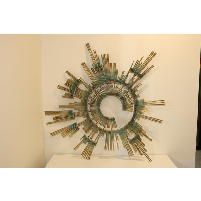 1980s Curtis Jere Retro Modern Abstract Wall Sculpture For Sale - Image 13 of 13