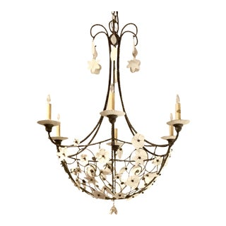 Currey & Co. Springbank Large Chandelier For Sale