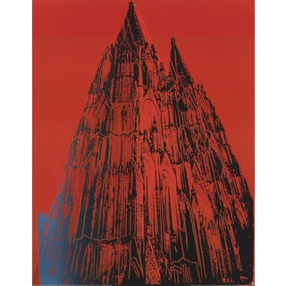 Andy Warhol, Koln Cathedral, Offset Lithograph For Sale