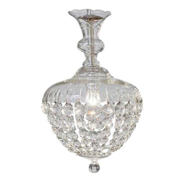 Antique Crystal Baccarat Chandelier For Sale - Image 10 of 10