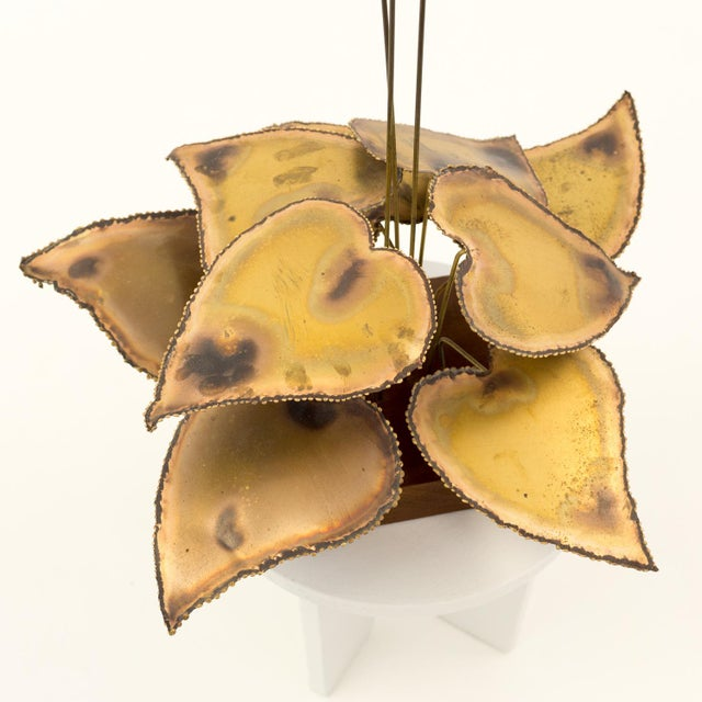 Curtis Jere Curtis Jere Mid-Century Brass Sculpture For Sale - Image 4 of 6