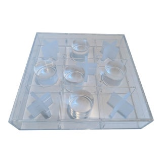 Acrylic Decorative Tic-Tac-Toe Game