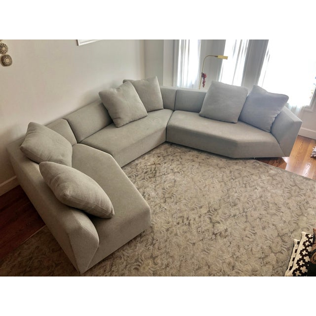 Vioski Mitosi 3-Piece Sectional Sofa | Chairish