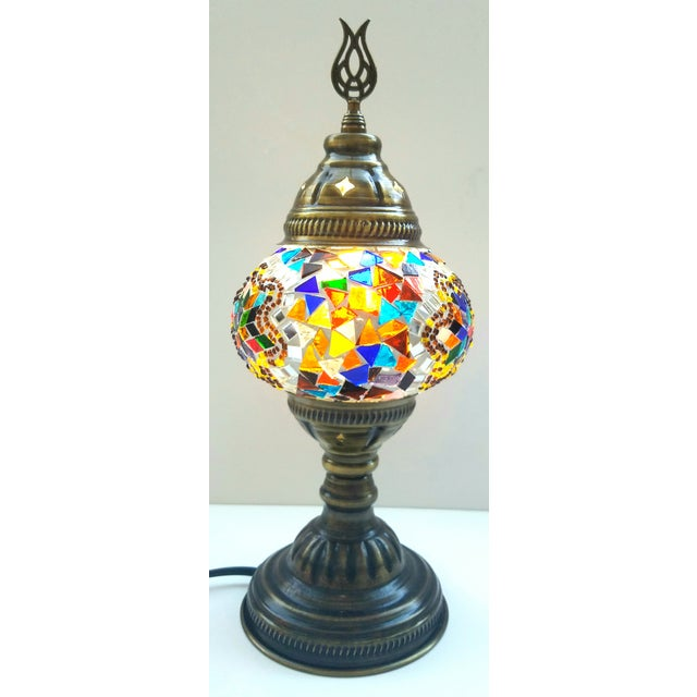 Handmade Mosaic Table Lamp - Image 4 of 5