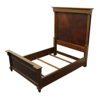 Late 20th Century Bernhardt Queen Size Panel Bed For Sale