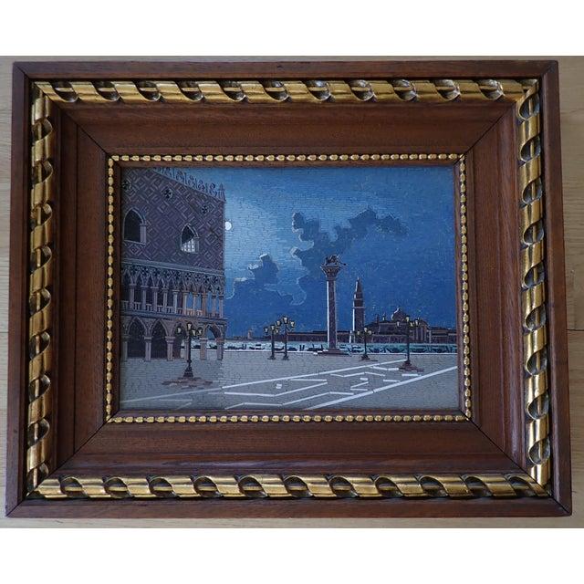 19th Century Italian Micromosaic Plaque For Sale - Image 9 of 13