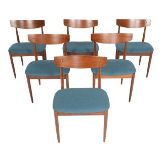 Ib Kofod- Larsen for G Plan Teak Dining Chairs - Set of 6
