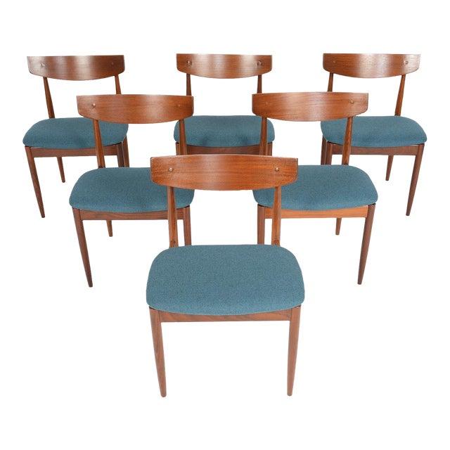 Ib Kofod- Larsen for G Plan Teak Dining Chairs - Set of 6 For Sale