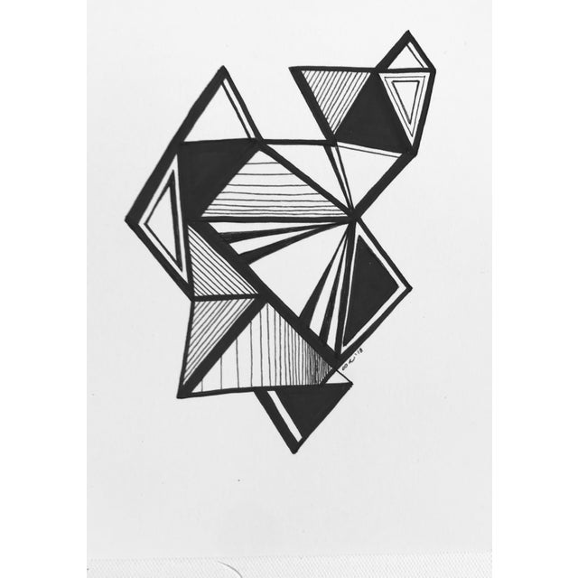 This original pen & ink drawing by textile designer and artist, Christy Almond, uses the artist's signature freehand...