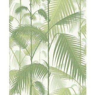 Cole & Son Palm Jungle Wallpaper Roll - Olive Gre/White For Sale