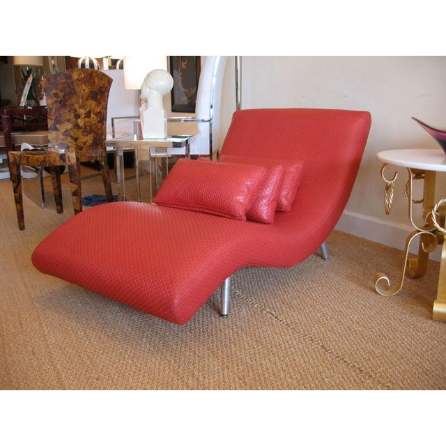 Mid Century Modern Chaise Longue For Sale - Image 4 of 10