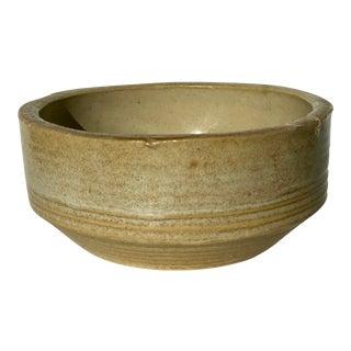 Vintage Organic Modern Ceramic Bowl For Sale