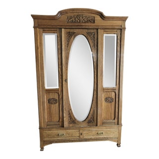 19th Century Vintage Armoire For Sale