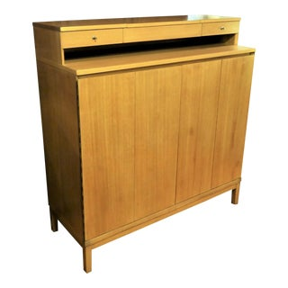 1950s Mid-Century Modern Paul McCobb Gentleman's Chest of Drawers for Calvin. For Sale