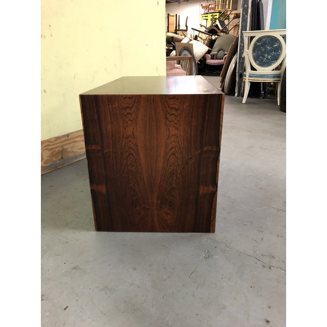 1960s Mid-Century Modern Poul Cadovius Rosewood Wall Unit Sliding Door Cabinet For Sale In Philadelphia - Image 6 of 8