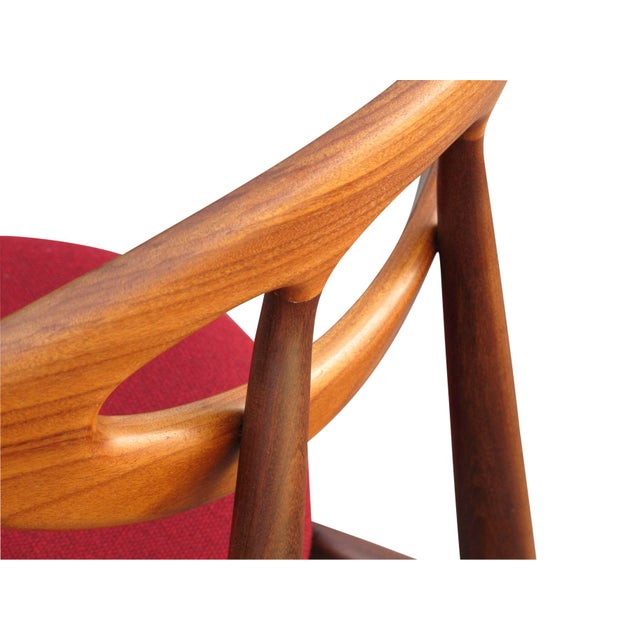 """1960s 8 Ejvind A. Johansson Dining """"Eye"""" Chairs For Sale - Image 5 of 11"""