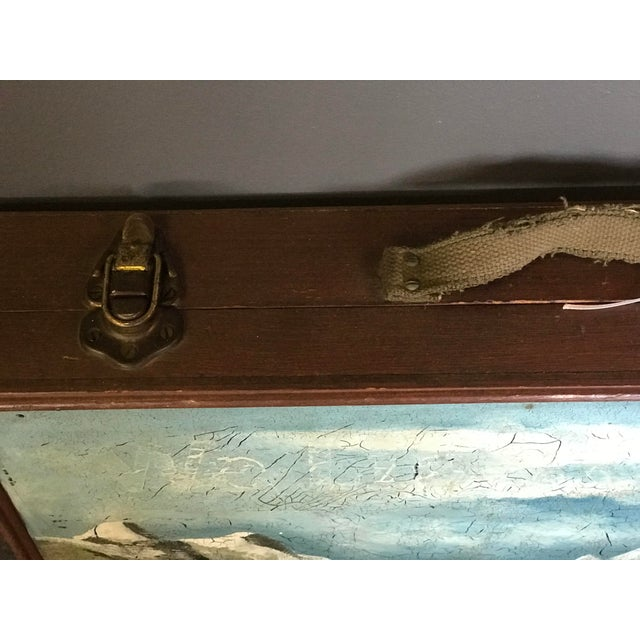 Vintage Wooden Artist's Box For Sale - Image 5 of 6