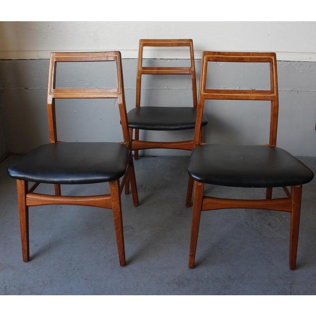 Mid-Century Danish Modern Foster-McDavid Furniture Inc. Chairs - Set of 3 - Image 4 of 11