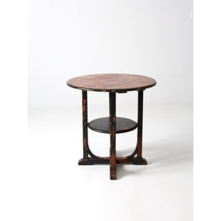 Antique Round Accent Table Preview