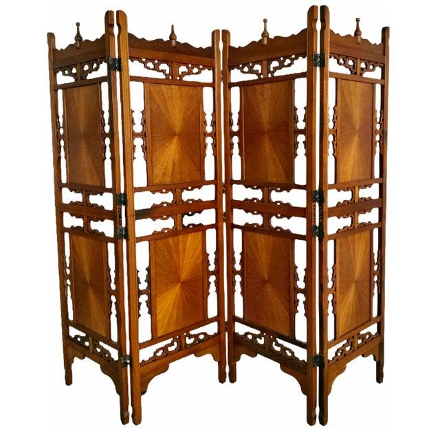 Wondrous 1970S Vintage Rosewood Shoji Screen Room Divider Chairish Interior Design Ideas Tzicisoteloinfo