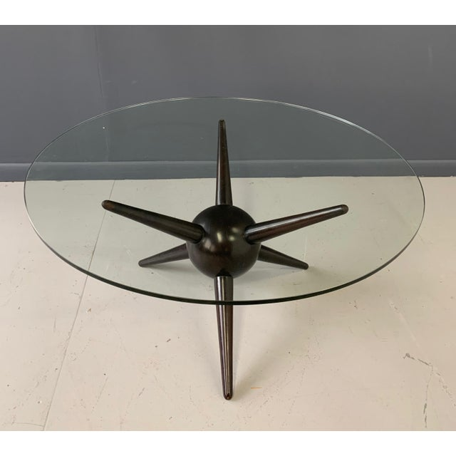 1960s Gio Ponti Attributed Spike Cocktail Table For Sale - Image 5 of 9