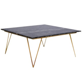 Mid-Century Modern Worlds Away Hairpin Leg Coffee Table For Sale