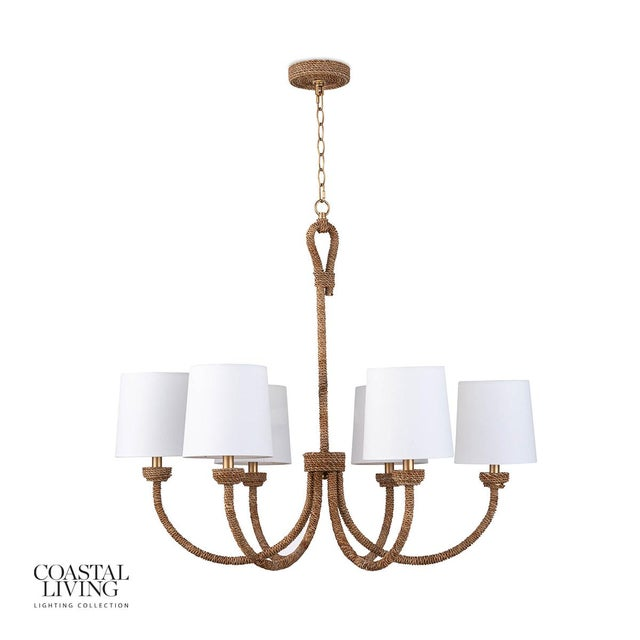 Bimini Chandelier Small For Sale In Detroit - Image 6 of 6
