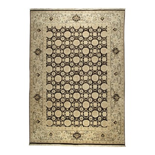 Traditional Egyptian Wool Rug - 9' X 12' For Sale