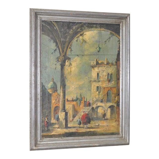 19th Century Italian School Oil Painting For Sale